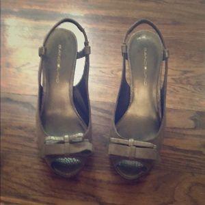 Women's Bandolino Open-toed Slingback Heels